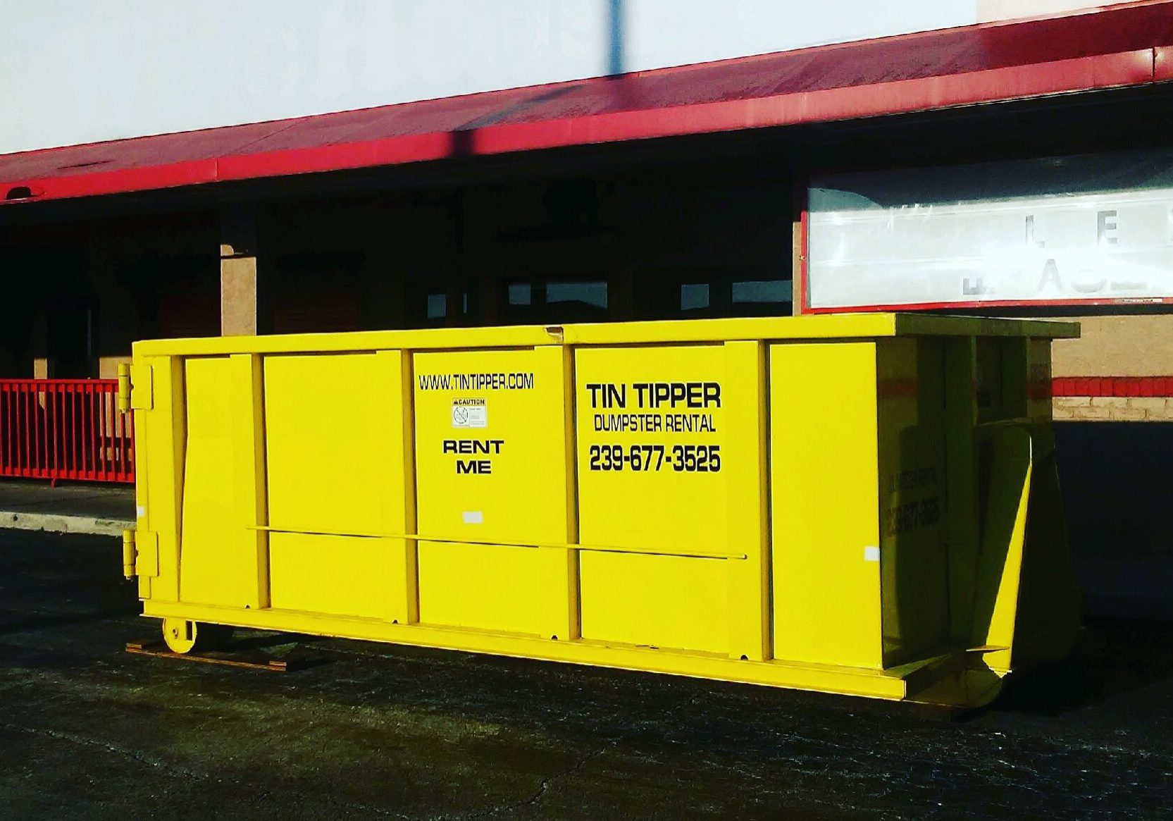 Fort Myers Dumpster Rental Tin Tipper Rent bin container roll off