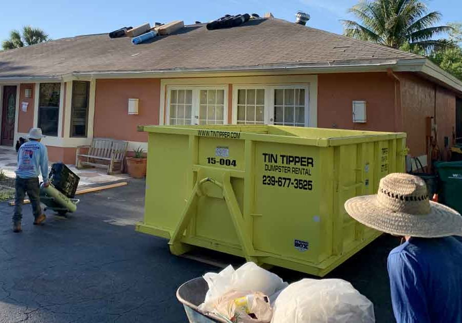 Fort-Myers-Dumpster-Rental-by-Tin-Tipper-Dumpster-Rental